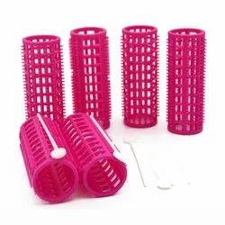 Pink Women Hair Roller for Household