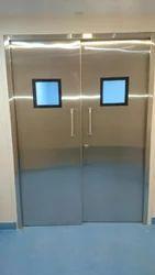 SS Manual Hinge Door