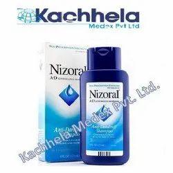 Women Nizoral Shampoo, Packaging Type: Bottle