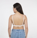 Single Back Hook Padded Bra