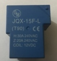 Pcb Power Relay - Jqx-15f-l, 12 And 18