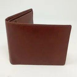 Genuine Brown Mens Leather Wallet