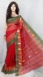 Bengal Saree Bengal handloom Bengal Cotton Saree, Without blouse piece