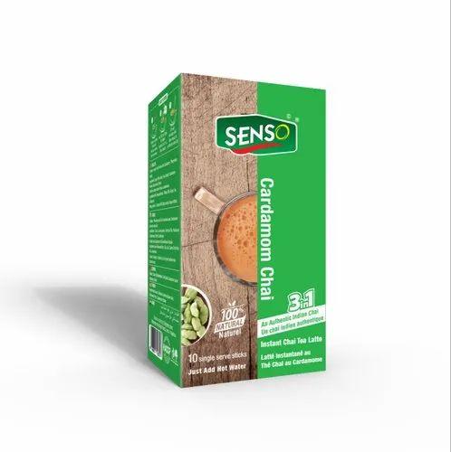 Senso Cardamom Tea Sachets, Packaging Type: Box