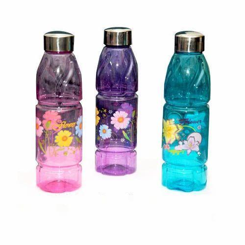 Aqua Pink Fridge Water Bottle Capacity 500 1000ml