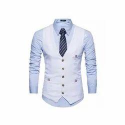 Wedding White Hartmann Tuxedo Mens Waistcoat, Size: S-XXL
