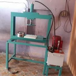 Semi Automatic Single Die Paper Plate Making Machine