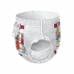 Need Dry White Medium Pant Type Diaper