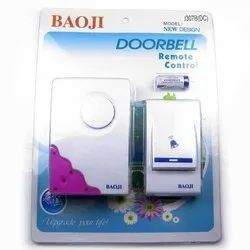 Plastic Baoji and Anchor Doorbells (wired and wireless)