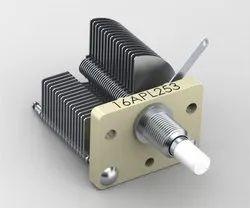 air-dielectric variable capacitors.
