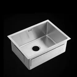 Single Stainless Steel Hand Made Sink