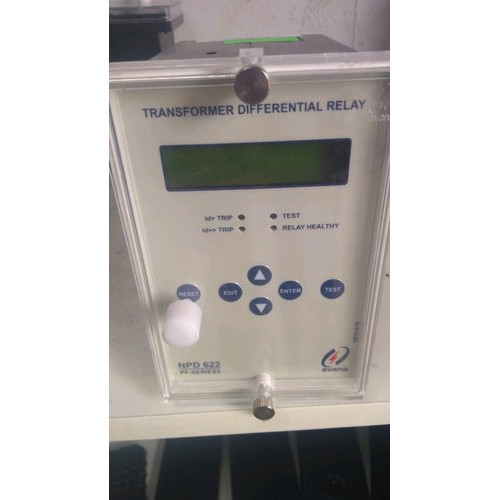 Numerical Dual Slope Transformer Differential Relay