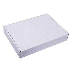 Paper White Corrugated Board Box