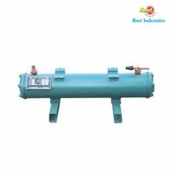 Ravi Galvanized Water Cooled Heat Exchanger, For Hydraulic and Industrial Process