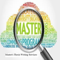 Master's Thesis Writing Services