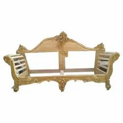 Wooden Fancy Carving Sofa Frame