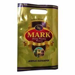 Matt Shell White Mark Acrylic Distemper Pouch