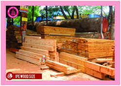 IPE wood sizes