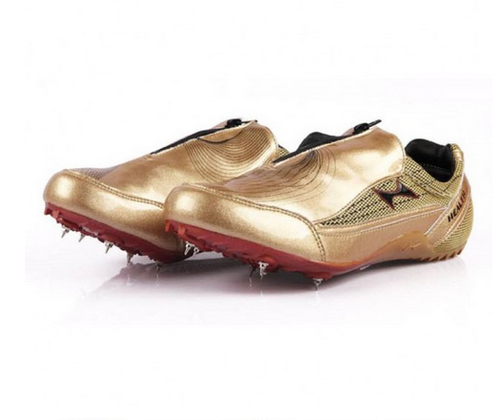 gold track shoes cheap online