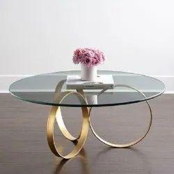 Designer Handicrafts Iron Metal Decorative Center Table, for Restaurant