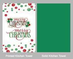 Christmas Print Kitchen Towel