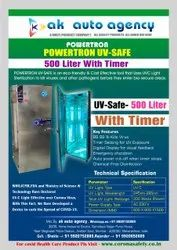 Powertron UV Safe Disinfection Machine - 500 Litre