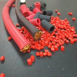 Red PVC Cable Granules