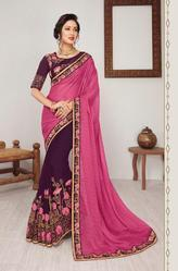 Ambica Vartika Series 38001-38026 Stylish Party Wear Saree