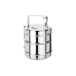 11d791efe02 Amit Silver 2 Container Stainless Steel Tiffin