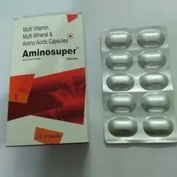 Aminosuper FRANCHISE Multi Vitamin Multi Mineral And Amino Acids Capsules