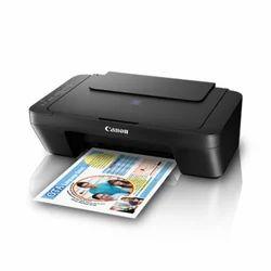 Black Pixma Canon Inktank Printer, E470