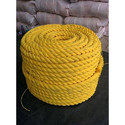 Yellow Crowd Control Polypropylene Rope