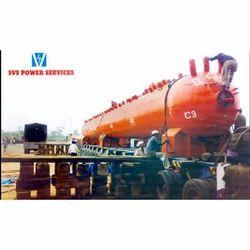 Boiler Drum Unloading Services, Same State