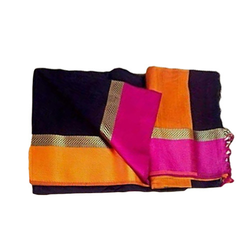 Maheshwari Border Silk Saree