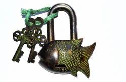 Brass Made Fish Lock