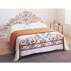 Vintage Wrought Iron Bed