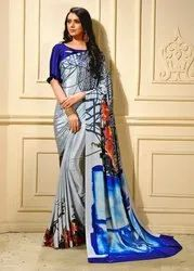 Pr Fashion Launched Beautiful Designer Semi-Casual Wear Saree