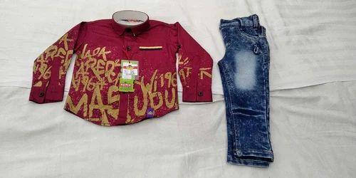 9532dcea125 Fancy Kids Wear - Cool Print Shirt Manufacturer from Kolkata