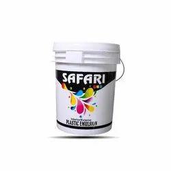 Milky White Safari Acrylic Plastic Emulsion Paint, Packaging Size: 20 Litres