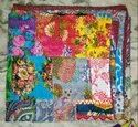 Patch Work Kantha Bedspread