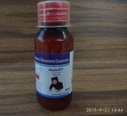 Aceclofenac With Paracetamol (Susp.)
