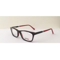 Male Glass Acetate Eye Fashion Spectacle Frame, Packaging Type: Box