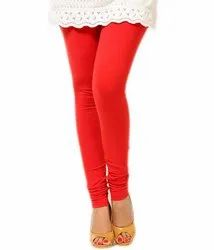 Red Churidar Legging