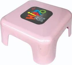 Pavan Plastic Square Heavy Bathroom Stool