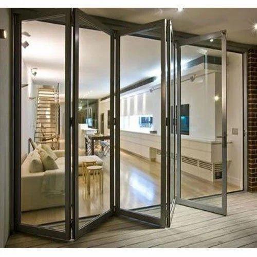 Aluminium Folding Door at Rs 245 /square feet | Surat | ID ...
