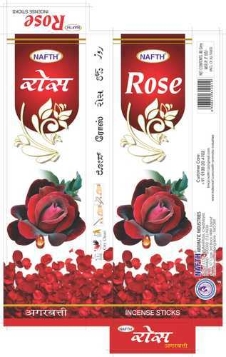 Rose Incense Stick, Packaging Type: Box