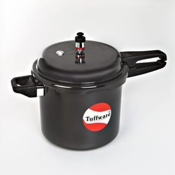 Induction Base Hard Anodized Pressure Cooker Outer Lid