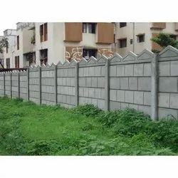 RCC Readymade Concrete Compound Wall