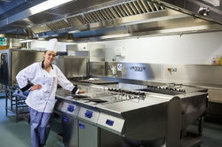 Stainless Steel Commercial Cooking Range