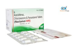 Aceclofenac Chlorzoxazone And Paracetamol Tablets